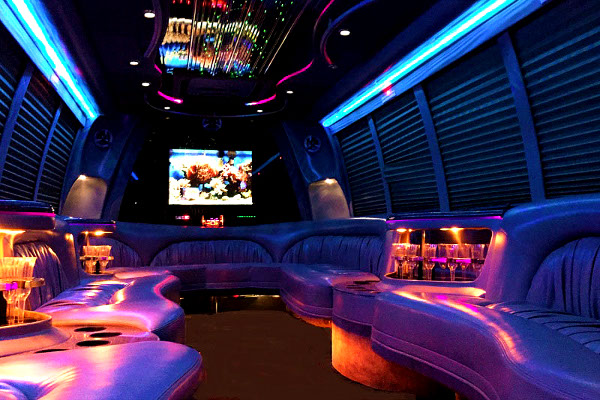 Fresno 18 Passenger Party Bus